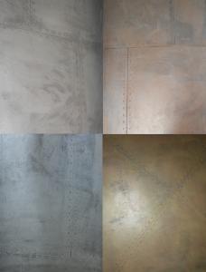 nuancier béton paquebot acier aluminium argent aztèque bronze cuivre fonte or, applicateur revêtement sols & murs 66