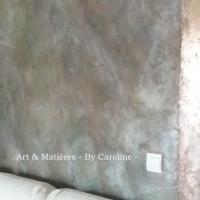 décor stuc béton patine