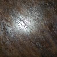 enduit effet roche marron