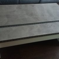 meuble béton minéral