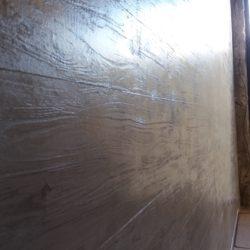 planche de coffrage enduit stuc déco béton